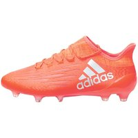 adidas Mens X 16.1 FG Football Boots Solar Red/Silver Metallic/Hi Res Red