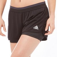 adidas Womens Climachill 2 IN 1 Training Shorts Black