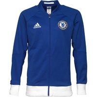 adidas Mens CFC Chelsea Anthem Jacket Chelsea Blue/White/Red