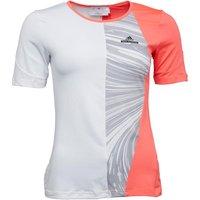 adidas Womens X Stella McCartney Barricade ClimaLite Tennis Top Flash Red/White