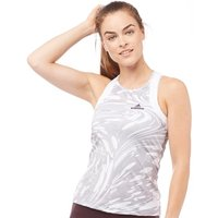 adidas Womens X Stella McCartney Barricade ClimaLite Tennis Tank White/Oyster Grey