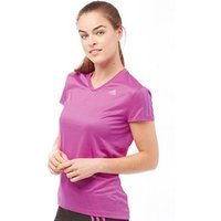 adidas-womens-response-clima-lite-v-neck-running-top-shock-purple-reflective-silver