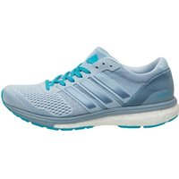 adidas Womens Adizero Boston Boost 6 Lightweight Neutral Running Shoes Easy Blue/Tactile Blue/Energy Blue