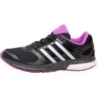adidas Womens Questar Boost TechFit Neutral Running Shoes Utility Black/White/Utility Black