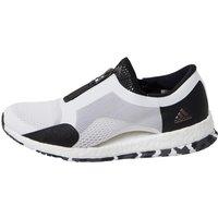 adidas Womens PureBOOST x TR Zip Training Shoes White/Core Black/Solid Grey