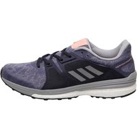 adidas Womens Supernova sequence Boost 9 Stability Running Shoes Super Purple/Silver Metallic/Mid Grey