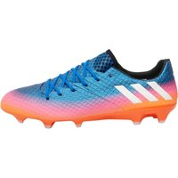 Adidas Mens Messi 16.1 Fg Blue Blast Pack Football Boots Blue/white/solar Orange