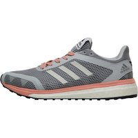 adidas Womens Response Plus Boost Neutral Running Shoes Mid Grey/Silver Metallic/Still Breeze