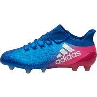 Adidas Mens X 16.1 Fg Football Boots Blue/white/shock Pink
