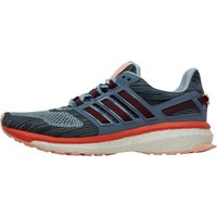 adidas Womens Energy Boost 3 Neutral Running Shoes Easy Blue/Easy Coral/Haze Coral