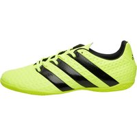 Adidas Mens Ace 16.4 In Indoor Football Boots Solar Yellow/core Black/silver Metallic