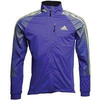 Adidas Mens Xperior Soft Shell Jacket Night Flash/solar Yellow/pool