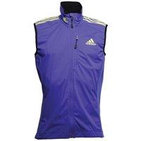 Adidas Mens Xperior Soft Shell Vest Night Flash/solar Yellow/pool