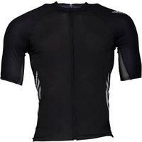 adidas Mens Adizero Cycling Jersey Black/White