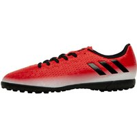 adidas Junior MESSI 16.4 TF Astro Red Limit Pack Football Boots Red/Core Black/White