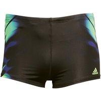 adidas Mens Infinitex+ XTR BX Swimming Shorts Black/Solar Green