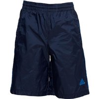Adidas Junior Boys Side Piped Woven Shorts Blue