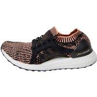 adidas Womens UltraBOOST X Running Shoes Core Black/Easy Blue/Glow Orange