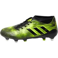 adidas Mens Adizero Malice SG Rugby Boots Core Black/Yellow