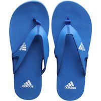 Adidas Mens Calo 5 Flip Flops Royal Blue/white