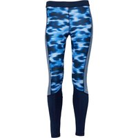 adidas Womens Techfit Climalite Printed Tight Leggings Print/Core Navy