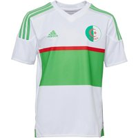 Adidas Boys Algeria 3 Stripe Climacool Football Shirt White/green/red