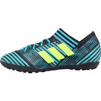 Adidas Junior Nemeziz Tango 17.3 Turf Football Boots Legend Ink/solar Yellow/energy Blue