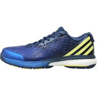 Adidas Mens Energy Volley Boost 2.0 Volleyball Shoes Mystery Blue/bright Yellow/blue