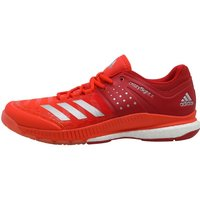 Adidas Mens Crazyflight X Volleyball Shoes Scarlet/silver Metallic/energy