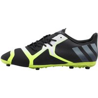Adidas Mens Ace 16+ Tkrz Football Boots Core Black/night Metallic/solar Yellow