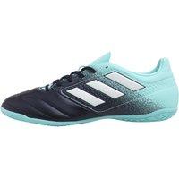 adidas Mens ACE 17.4 IN Football Trainers Energy Aqua/Footwear White/Legend Ink