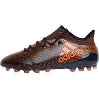 Adidas Mens X 17.1 Ag Football Boots Core Black/solar Red/solar Orange