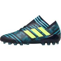 Adidas Mens Nemeziz 17.1 Ag Football Boots Legend Ink/solar Yellow/energy Blue