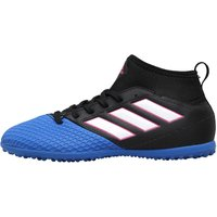 Adidas Junior Ace 17.3 Primemesh Turf Astro Football Boots Core Black/cloud White/blue
