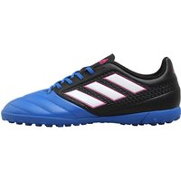 Adidas Junior Ace 17.4 Tf Astro Football Boots Core Black/footwear White/blue