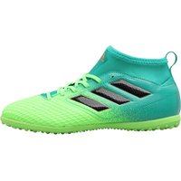 Adidas Junior Ace 17.3 Primemesh Tf Astro Football Boots Solar Green/core Black/core Green