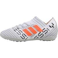 adidas Junior Nemeziz MESSI Tango 17.3 Turf Boots Footwear White/Solar Orange/Core Black