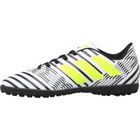 Adidas Junior Nemeziz 17.4 Tf Astro Football Boots Footwear White/solar Yellow/core Black