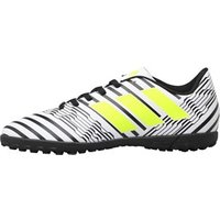 adidas Junior Nemeziz 17.4 TF Astro Football Boots Footwear White/Solar Yellow/Core Black