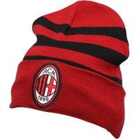adidas AC Milan 3 Stripe Beanie Victory Red/Black/White