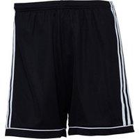 adidas Mens Squadra 17 Football Shorts Black/White