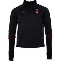 adidas Mens AC Milan Training Top Black/Night Cargo/Victory Red