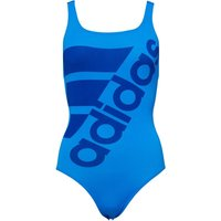 Adidas Womens Graphic Performance Swimsuit Shock Blue/collegiate Royal