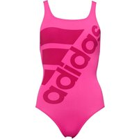 Adidas Womens Graphic Performance Swimsuit Shock Pink/bold Pink