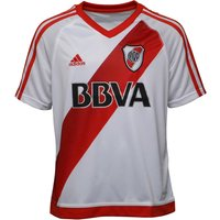 Adidas Junior Boys Carp River Plate Home Shirt White/power Red