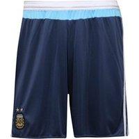 adidas Mens AFA Argentina Away Shorts Night Marine/White