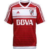 Adidas Junior Carp River Plate Away Shirt Power Red/white