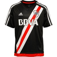 Adidas Junior Boys Carp River Plate Third Shirt Black/white/red/power Red
