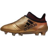 adidas Junior X 17+ Purespeed FG Football Boots Tactile Gold Metallic/Core Black/Solar Red