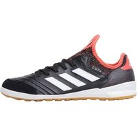 adidas Mens Copa Tango 18.1 IN Football Boots Core Black/Footwear White/Real Coral